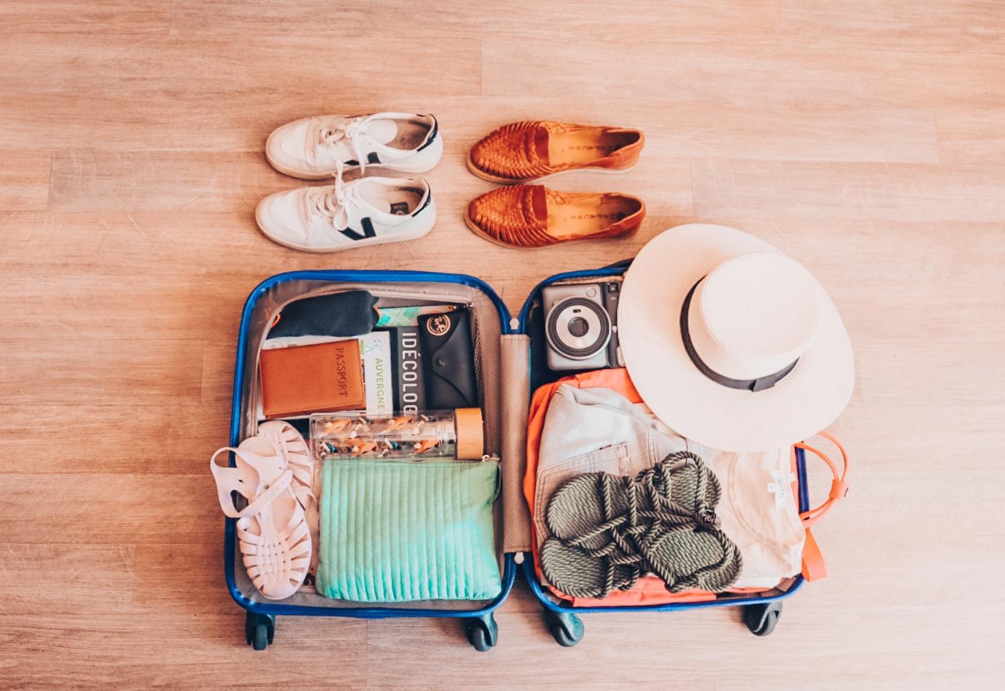 valise minimalisme blog voyage