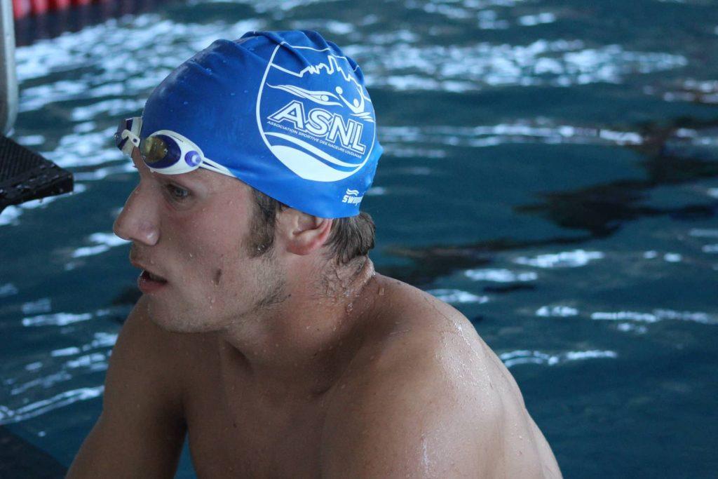 les nageurs du pole natation sport adapté à vichy
