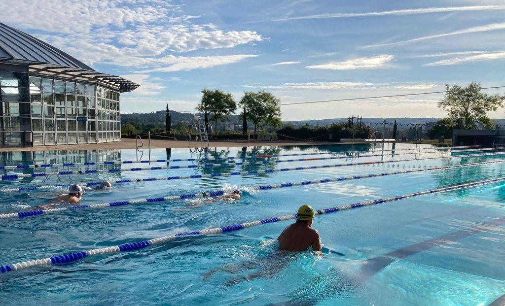 Nageurs pôle natation sport adapté