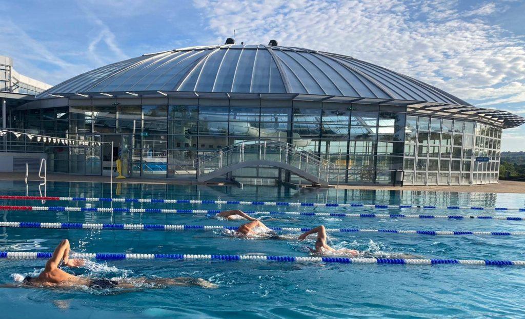 Nageurs pole natation sport adapté