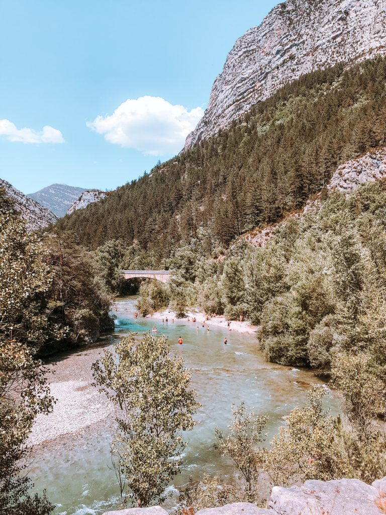 Baignade riviere verdon