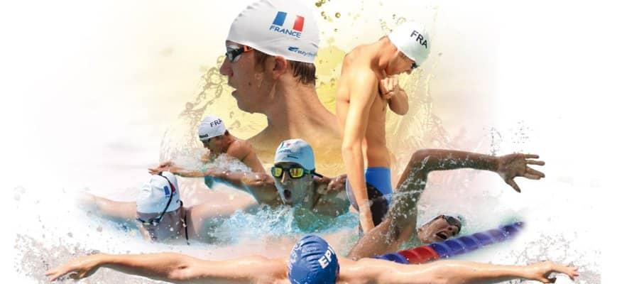 Les nageurs du Pôle Natation Sport Adapté à Vichy