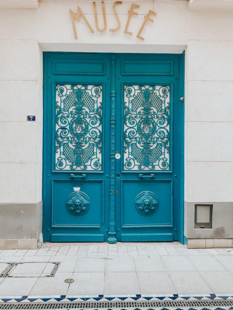 Portes bleues musée vichy