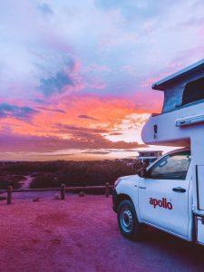 Cape Range National Park, coucher de soleil