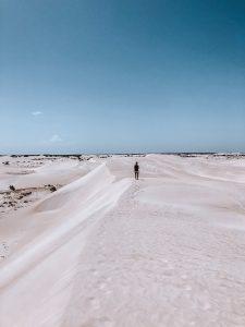 Lancelin sand dunes, perth, cote ouest, australie