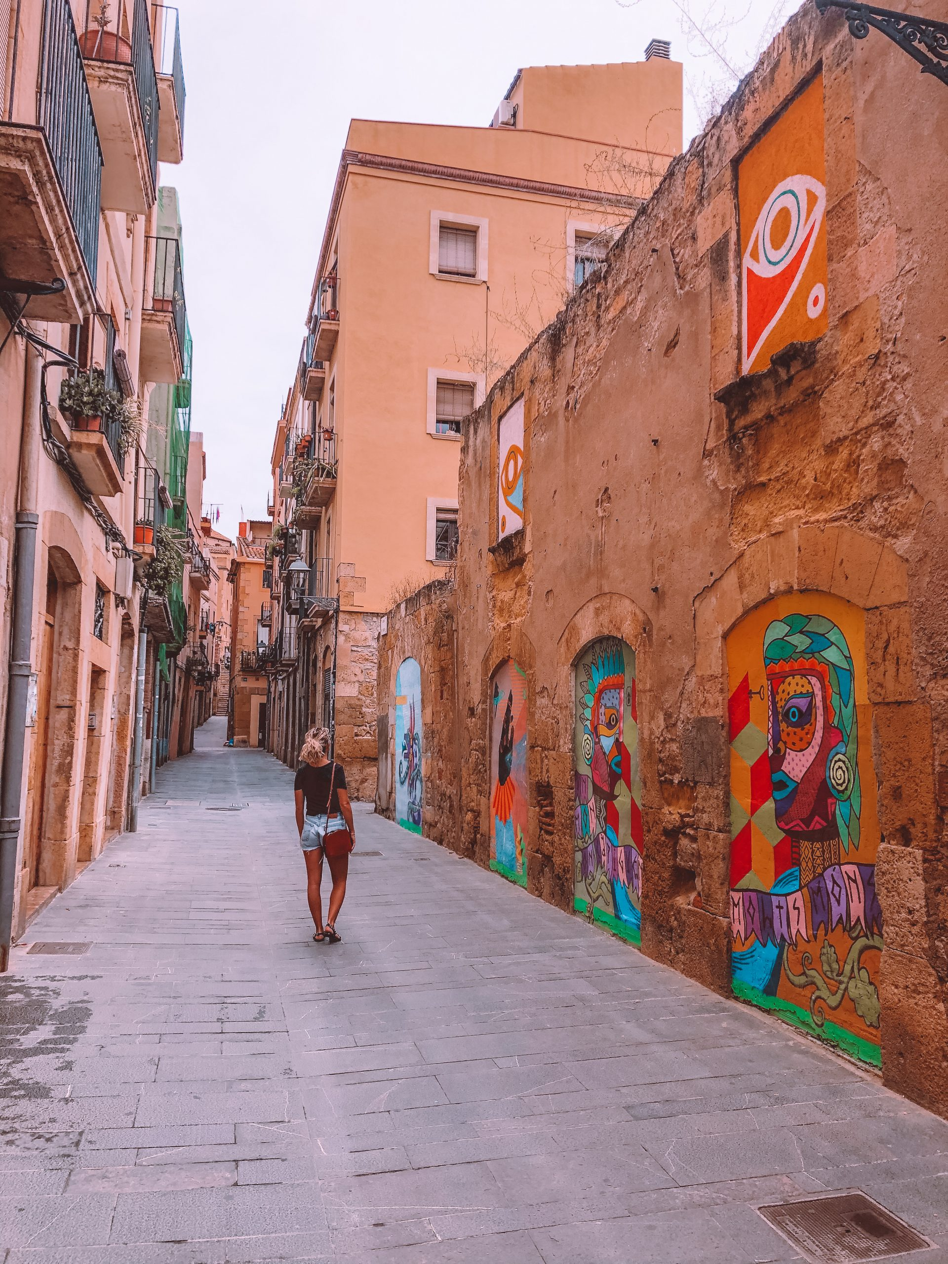 Tarragone street art visite vieille ville