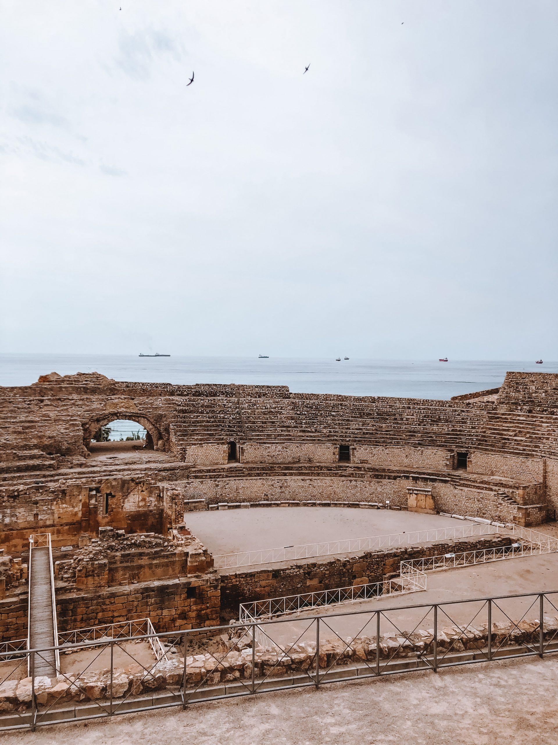 forum romain amphithéâtre espagne
