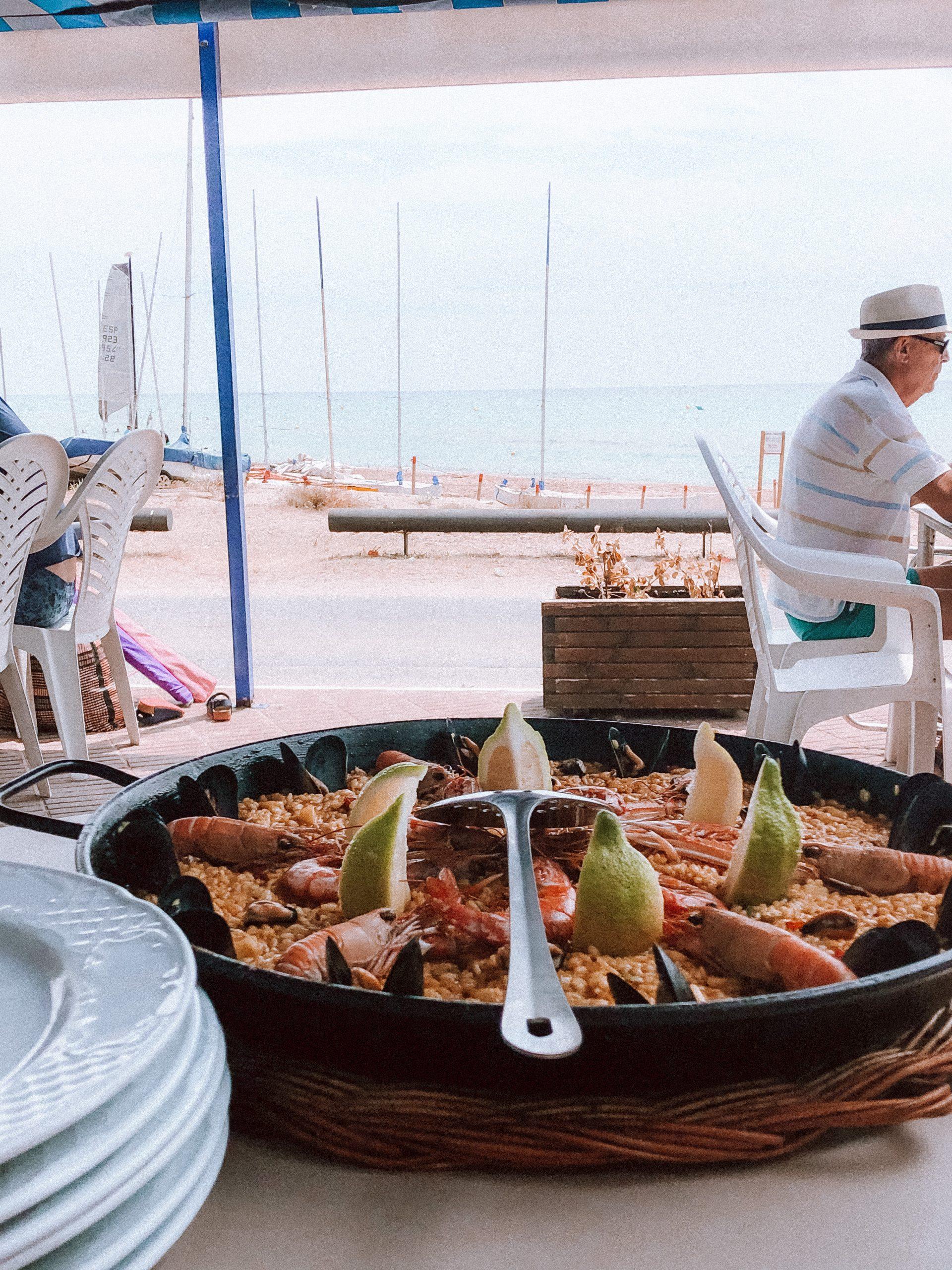 Paella traditionnelle espagne